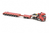 IMC Scania Mercedes Arocs Nooteboom Red Line
